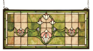 """Tulips Transom 