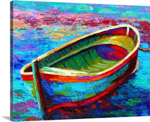 Boat I by Marion Rose Art Print on Canvas