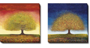 Dreaming Tree | Melissa Graves Brown | 2 Piece Canvas Art Set