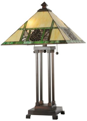 "25"" H Pinecone Ridge Table Lamp"