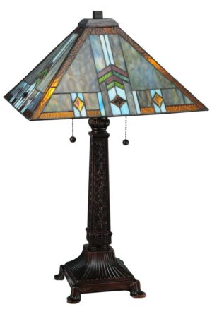 "26"" H Prairie Wheat Sunshower Table Lamp"