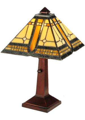 "16"" H Sierra Prairie Mission Accent Lamp"