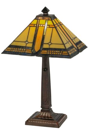 "21"" H Sierra Prairie Mission Accent Lamp"