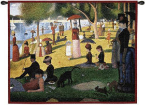 Sunday Afternoon On The Island Of La Grande Jatte By Georges Seurat | 33 x 26 | Tapestry