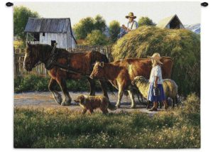 "Passing Parade | 34"" x 26"" 
