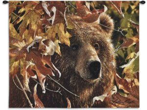 Legend Of The Fall | 26 x 34 | Bear Tapestry Wall Hanging