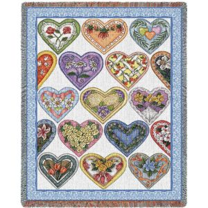 Hearts To You Country | Throw Blanket