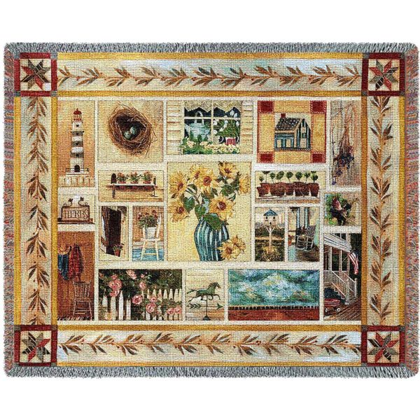 American Country | Throw Blanket