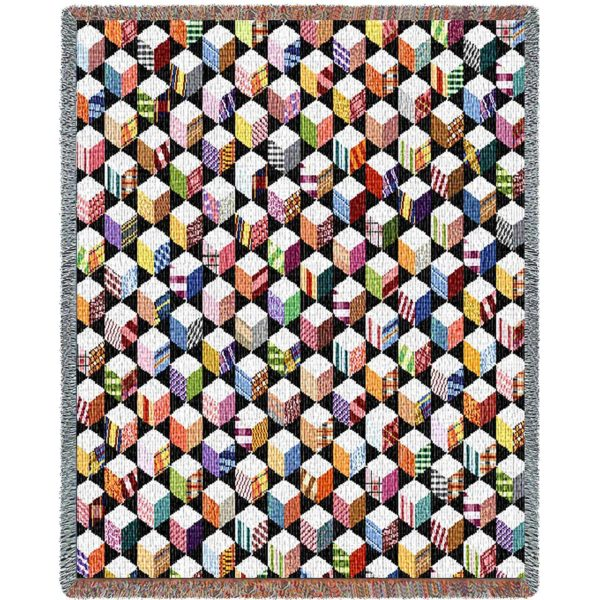 """Autograph Quilt   Tapestry Blanket   54"""" x 70"""""""