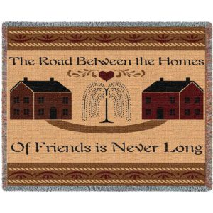 "Road Between Friends Blanket | 70"" x 54"""