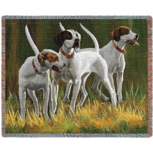 First Light Hounds (Dogs) Blanket   54 x 70