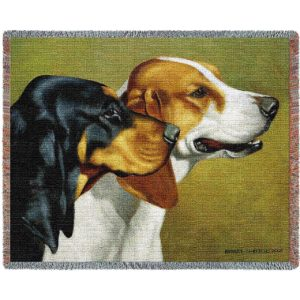 Coon Hunters (Dogs)   Throw Blanket