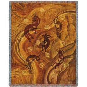Southwest Ancient Ones | Tapestry Blanket | 54 x 70