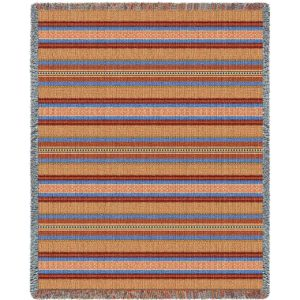 Saddleblanket Sky | Woven Throw Blanket | 54 x 70