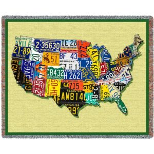 U.S.A. Tags | Woven Blanket