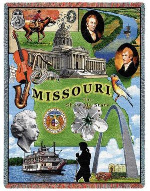Missouri | Tapestry Blanket | 54 x 70