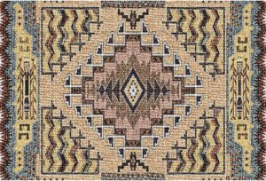 Southwest Butte Clay | Set of 6 Tapestry Placemats