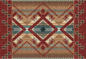 Las Cruces | Set of 6 Southwest Tapestry Placemats | 9 x 13