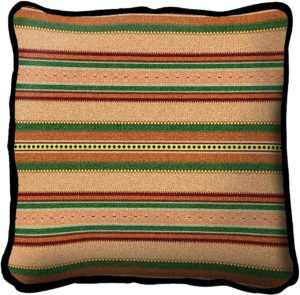 Saddleblanket Juniper | Southwest Throw Pillow | 17 x 17