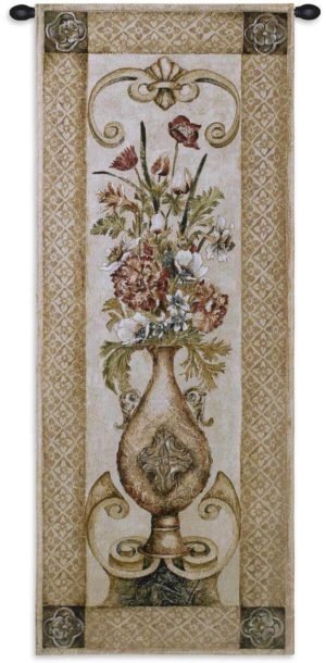 Eden's Botanical II | 22 x 53 | Woven Tapestry Hanging
