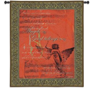 Angels Sing Wall | 42 x 53 | Woven Tapestry