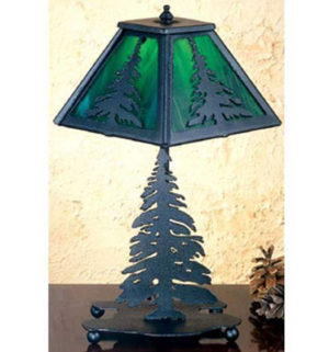 Pines Accent Rustic Lodge Table Lamp