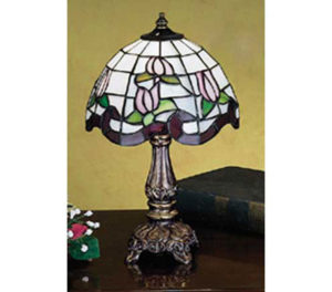 Roseborder Small Table Lamp | 11.5""