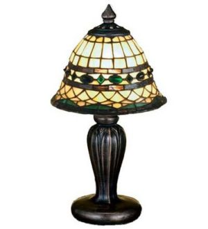 Roman Mini Tiffany Stained Glass Table Lamp