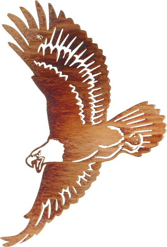 Eagle Decor Gifts: Winged Glory (Eagle) | 24″ | Metal Wall Decor