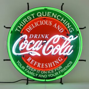 "Neonetics ""Delicious & Refreshing Coca-Cola"" Retro Neon Sign"