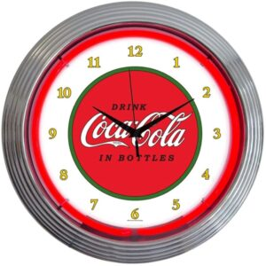 "Neonetics Retro ""Drink Coca-Cola"" 1910 Classic Neon Clock"