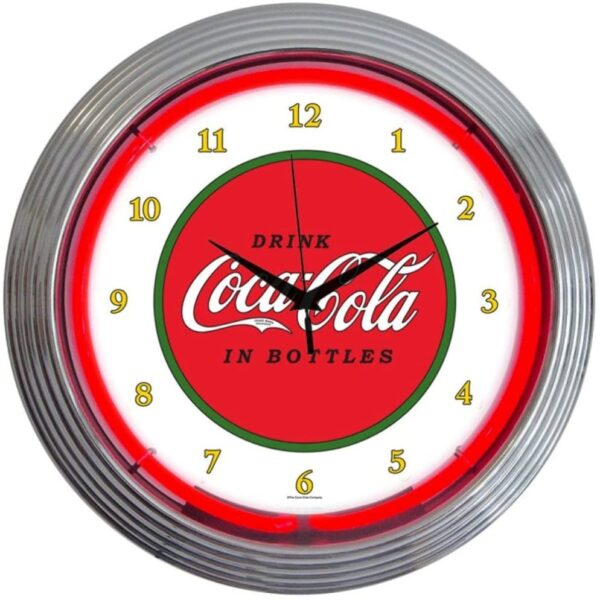 Neonetics Retro Drink Coca-Cola 1910 Classic Neon Clock