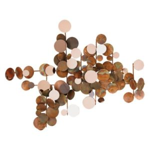 Contemporary Dots Copper Wall Decor | Global Views