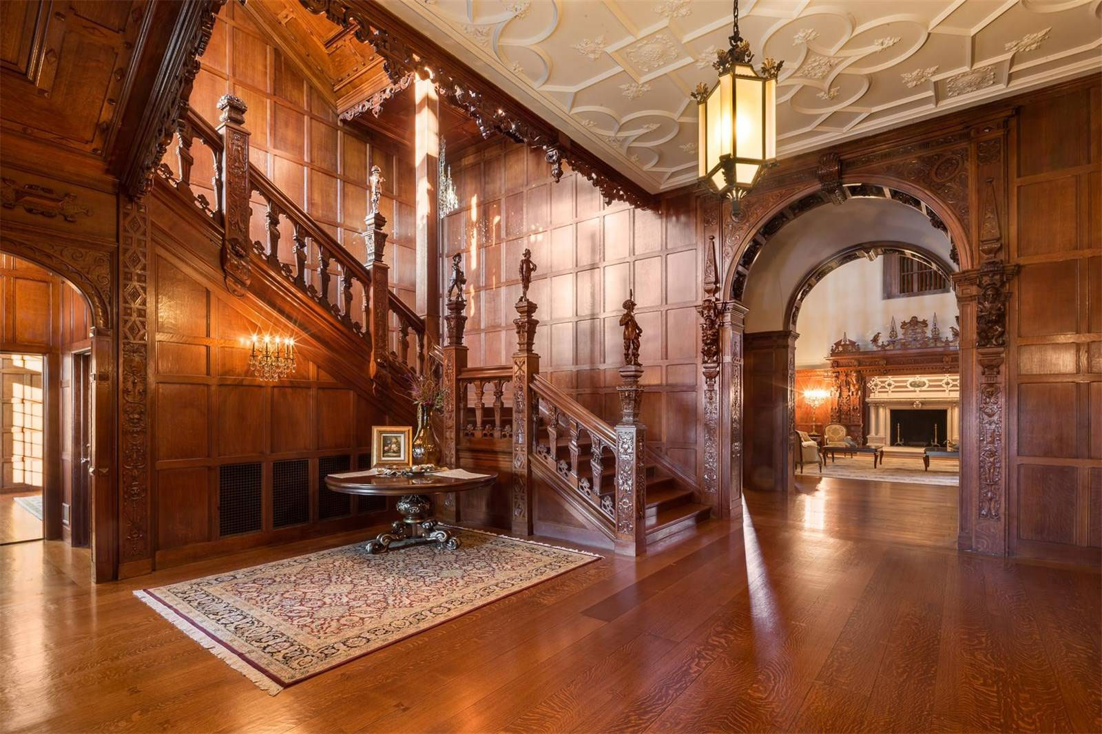 Darlington Mansion Staircase   Grand Staircases That Inspire