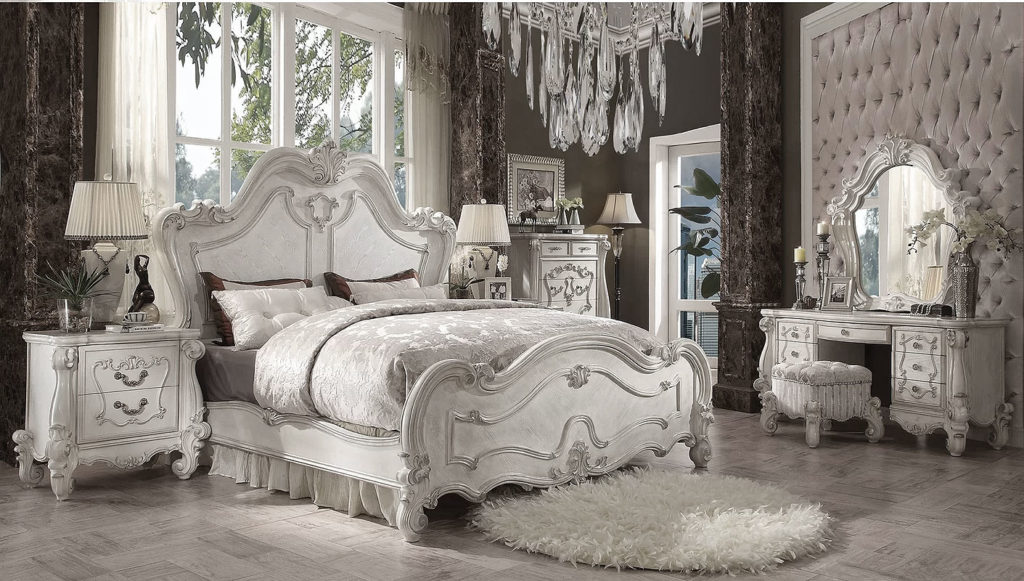 French Country Glam Bedroom