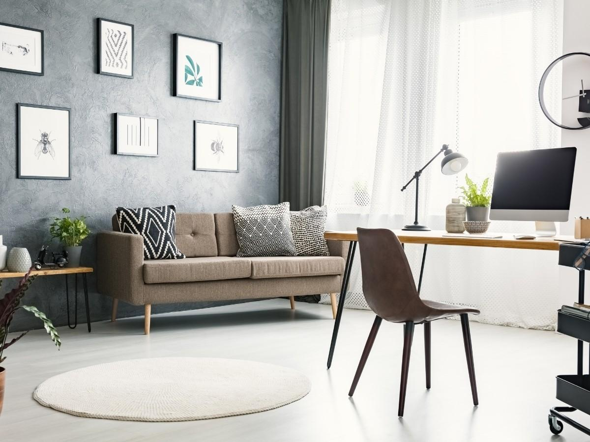 Working at Home Can Be Beautiful with the Right Home Office Furniture & Decor