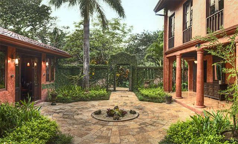 Mel Gibson's $30 Million Costa Rica Jungle Compound: Grounds