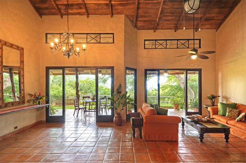 Mel Gibson's $30 Million Costa Rica Jungle Compound: Living Room