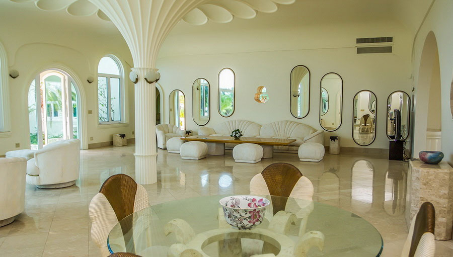 Virgin Islands 80s Glam Castle