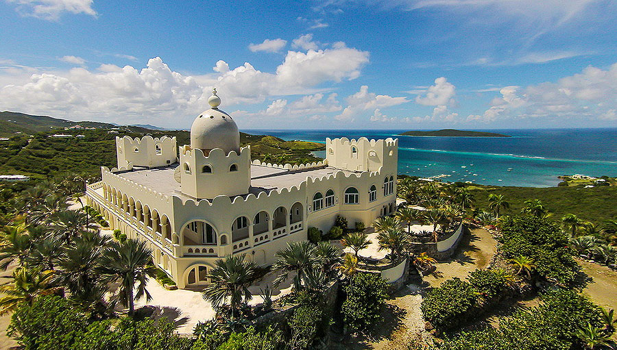 Virgin Islands Castle: Exterior