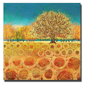 Beyond the Fields | Melissa Graves Brown Canvas Art