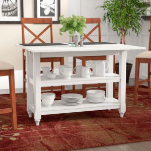 Red Barrel Studio | White Cherina Flip Top Dining Table