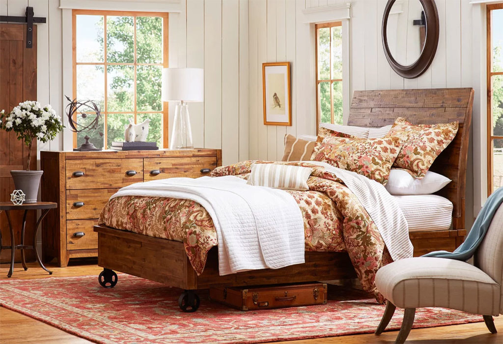 Country Cart Bedroom