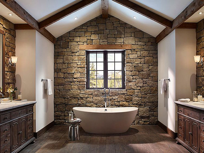 Clever Ways to Feature Exposed Brick & Stone Inside Your Home
