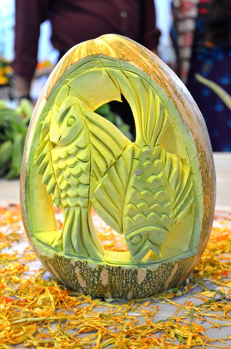 Halloween Pumpkin Carving Ideas | Carved Fish