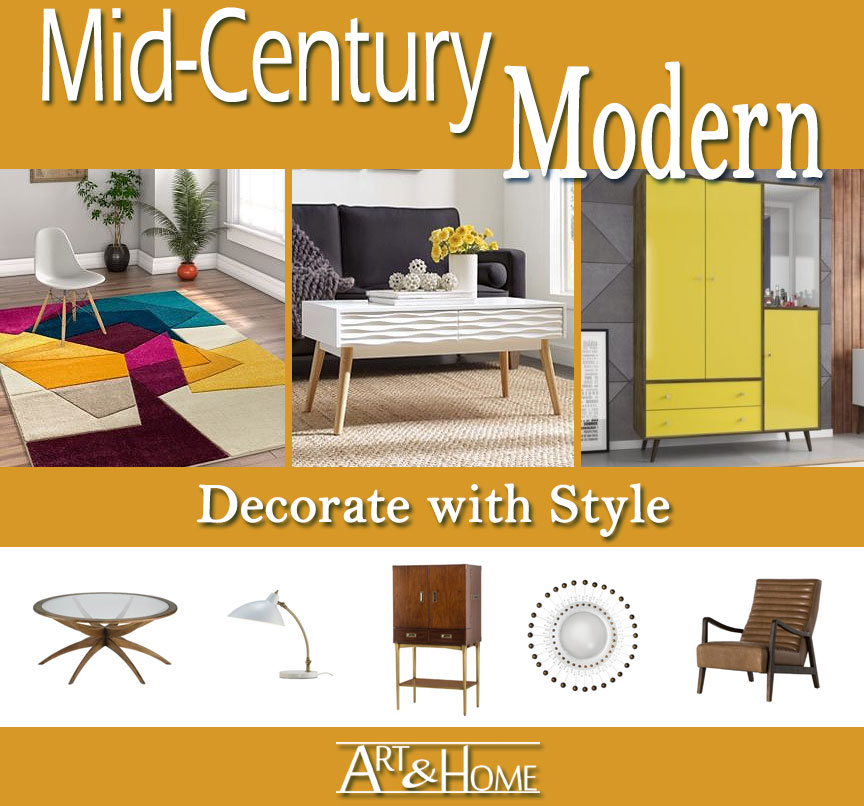 Mid-Century Modern Furniture & Home Decor Accents