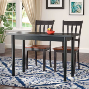 Parkison Flip Top Extendable Dining Table Features