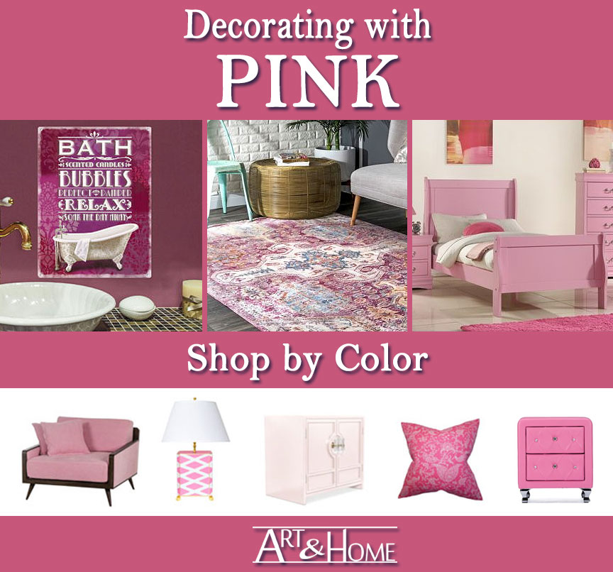 Pink Furniture & Home Decor Accents