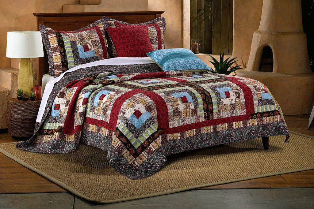 Southwestern Country Bedroom