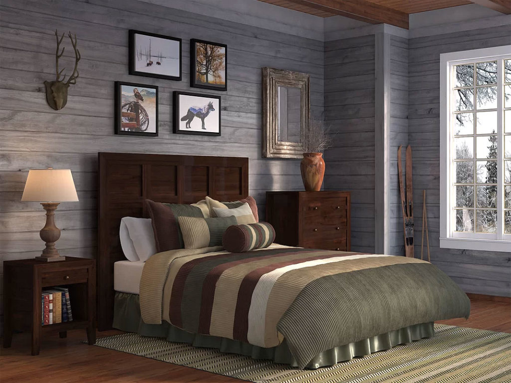 Weathered Country Bedroom